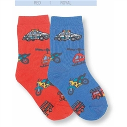 Jefferies Emergency Kids Socks for Boys - 1 Pair