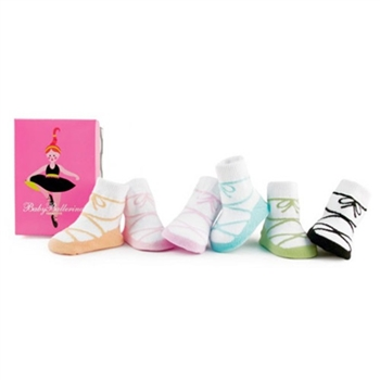 Trumpette Infants Ballerinas Kids Socks - 6 Pair